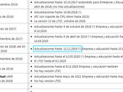 Windows 1803 soporte finaliza