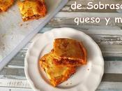 Empanada sobrasada, queso miel