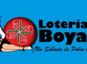 Loteria Boyaca noviembre 2019