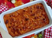 Pumpkin bread pudding. Pudin calabaza