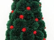 Árbol Navidad pompones