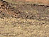 Probable slope (agua superficie) captado rover Curiosity.