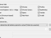 BrowsingHistoryView 2.35 ahora elimina historial navegación Chrome, Chromium Firefox