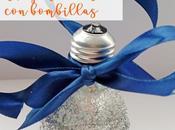 DIY: Adornos para arbol bombillas