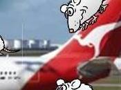 Ahora fueron ratas avión Qantas