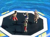 Plataformas flotantes para jugar