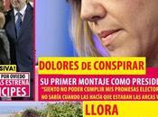 Dolores todavía Presidenta, pero empezado Conspirar