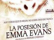 posesión Emma Evans venta DVD/Blu-ray