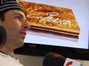 Juan Ángel Rodrigálvarez mejor pastelero para Academia Gastronomía