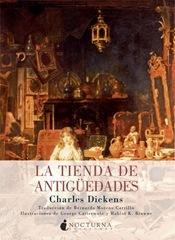tienda antigüedades, Charles Dickens