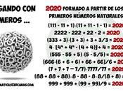 2020 partir primeros números naturales