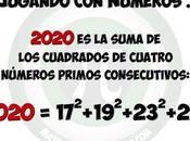 2020 como suma cuadrados cuatro primos consecutivos