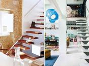 escaleras como parte decoración