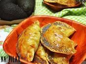 Empanadillas aguacate horno)