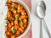 Garbanzos tomate curry
