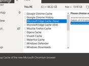 Cleanmgr ahora compatible Windows 2004 Edge (Chromium)