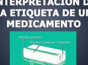 Lectura interpretación etiqueta medicamento