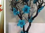 Ideas cómo convertir ramas secas hermosos centros mesa