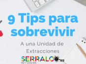 Tips para sobrevivir unidad extracciones