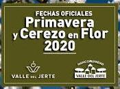 Fechas oficiales Primavera Cerezo Flor 2020. Valle Jerte