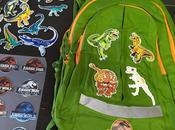 Customizar mochila dinosaurios.