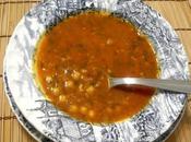 Sopa Harira marroquí