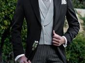Chaqué negro pura lana corte italiano entallado medida