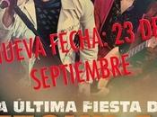 Aplazado concierto Tequila WiZink Center hasta septiembre