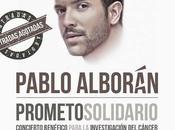 Aplazado concierto benéfico Pablo Alborán WiZink Center