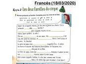 Actividades Francés (18/03/2020)