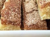 Cinnamon sugar cookie squares (bocaditos canela)