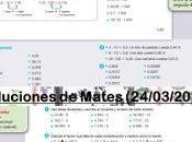 Soluciones Matemáticas (Segunda Semana)