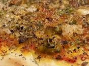 Pizza verduras, atún… queso parmesano