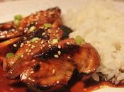 Pollo salsa teriyaki