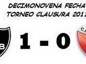Newell´s Boys: Colón:0 (Fecha 19°)