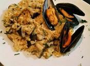 Risotto mejillones, shiitake portobello