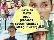 Revistas Mayo 2020 (Regalos, Suscripciones viene)