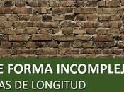 Forma compleja incompleja unidades longitud: Cómo pasar otra.