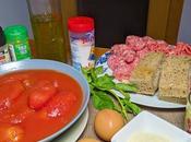 Albóndigas salsa tomate albahaca italiana (polpette sugo)