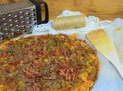 Pizza carne (receta facil rapida)