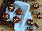 Muffins zanahoria plátano semillas lino