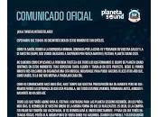 Planeta Sound 2020, Cancelado