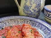 Salchichas esmirna salsa tomate