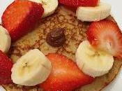 Tortitas avena plátano