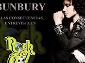 Enrique Bunbury presenta Consecuencias entrevista Rock