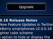 Twitter para BlackBerry v2.0.0.16