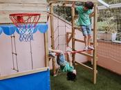 Montamos auténtico parque infantil madera casa