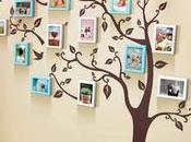 Decoración paredes diseño árbol genealógico