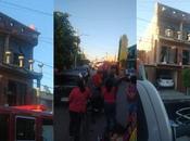 Explosión deja heridos Ponciano Arriaga