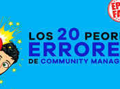 peores errores community managers evitar